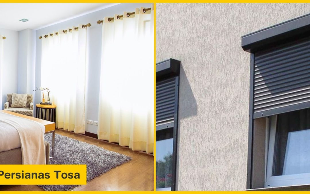 ¿Persianas o cortinas? Que diferencias hay entre ellas y por cuál decantarse.